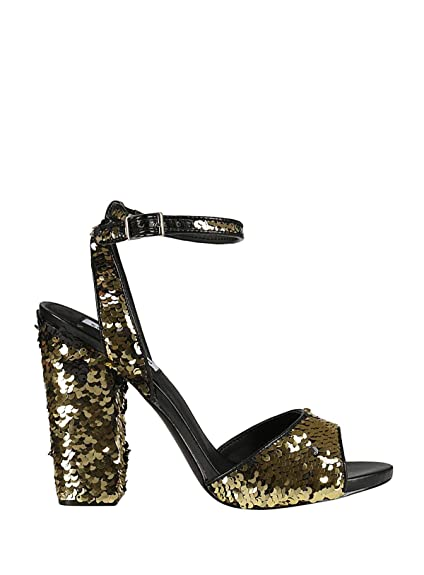 Madden Oro Amazon Ritzygold Sandali Donna Steve it Paillettes Fn7dq6x