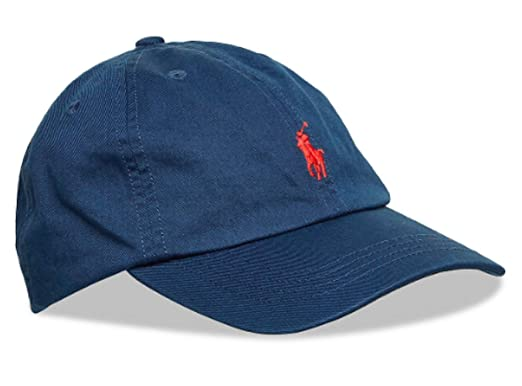 Image Unavailable. Image not available for. Color  Ralph Lauren Baby BOY  Cotton Chino Baseball Cap ... 7fcca0e0e48
