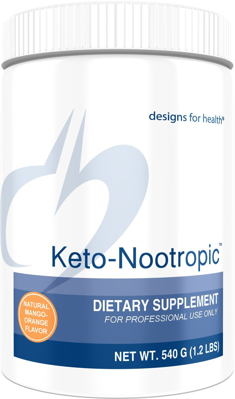 Designs for Health Keto-Nootropic - Exogenous Ketones Powder with Ginseng for Energy + Cognition (30 Servings / 540g) by designs for health