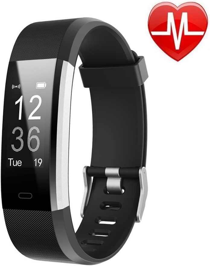 Amazon.com : LETSCOM Fitness Tracker HR, Activity Tracker Watch with Heart  Rate Monitor, Waterproof Smart Fitness Band with Step Counter, Calorie  Counter, Pedometer Watch for Women and Men : Sports & Outdoors