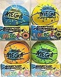Wave Runner Water Skipping Ball Basketball Style 3.5'' Advance Water Bounce Fun (4PCKMIX)