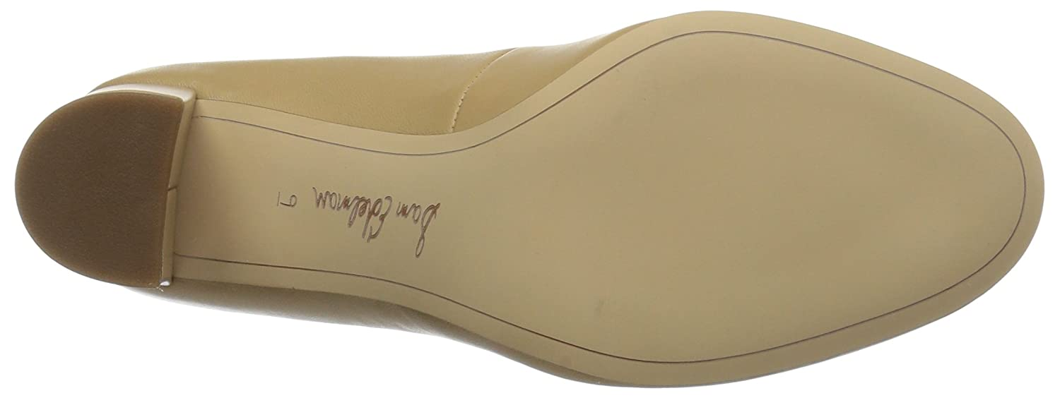 Sam Edelman Women's Stillson Pump B0741NQ5K2 8.5 B(M) US|Classic Nude Leather