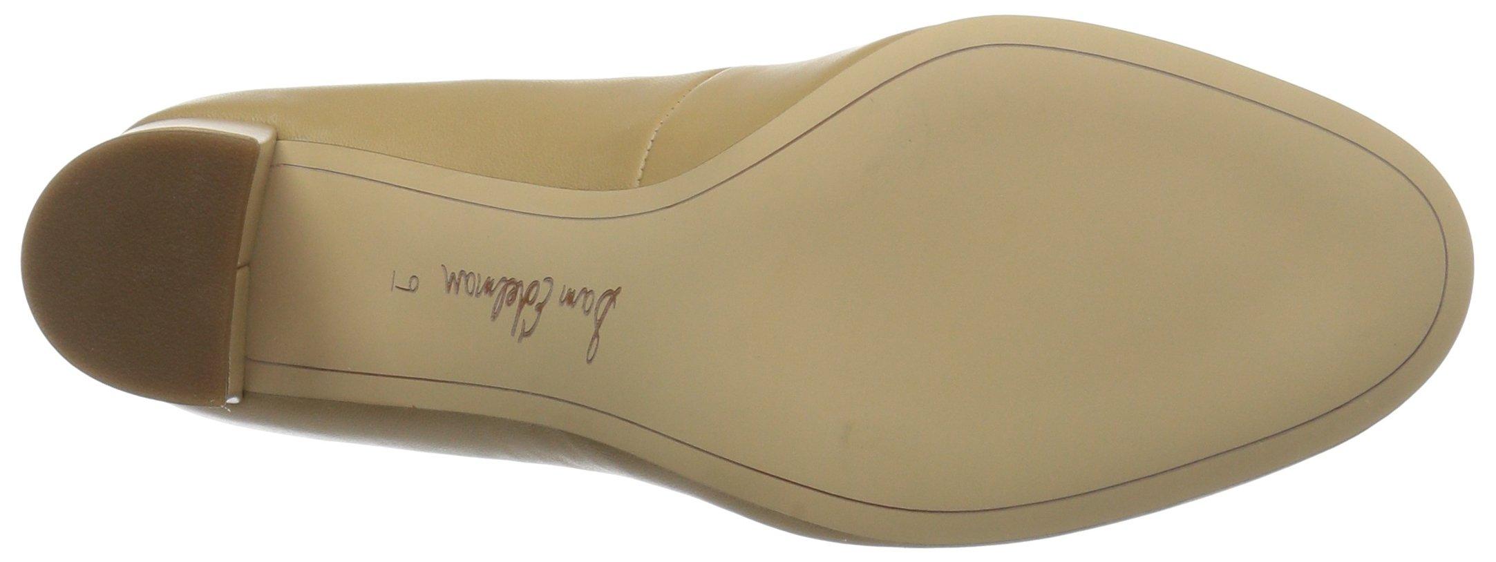 Sam Edelman Women's Stillson Pump, Classic Nude Leather, 7.5 Medium US by Sam Edelman (Image #3)