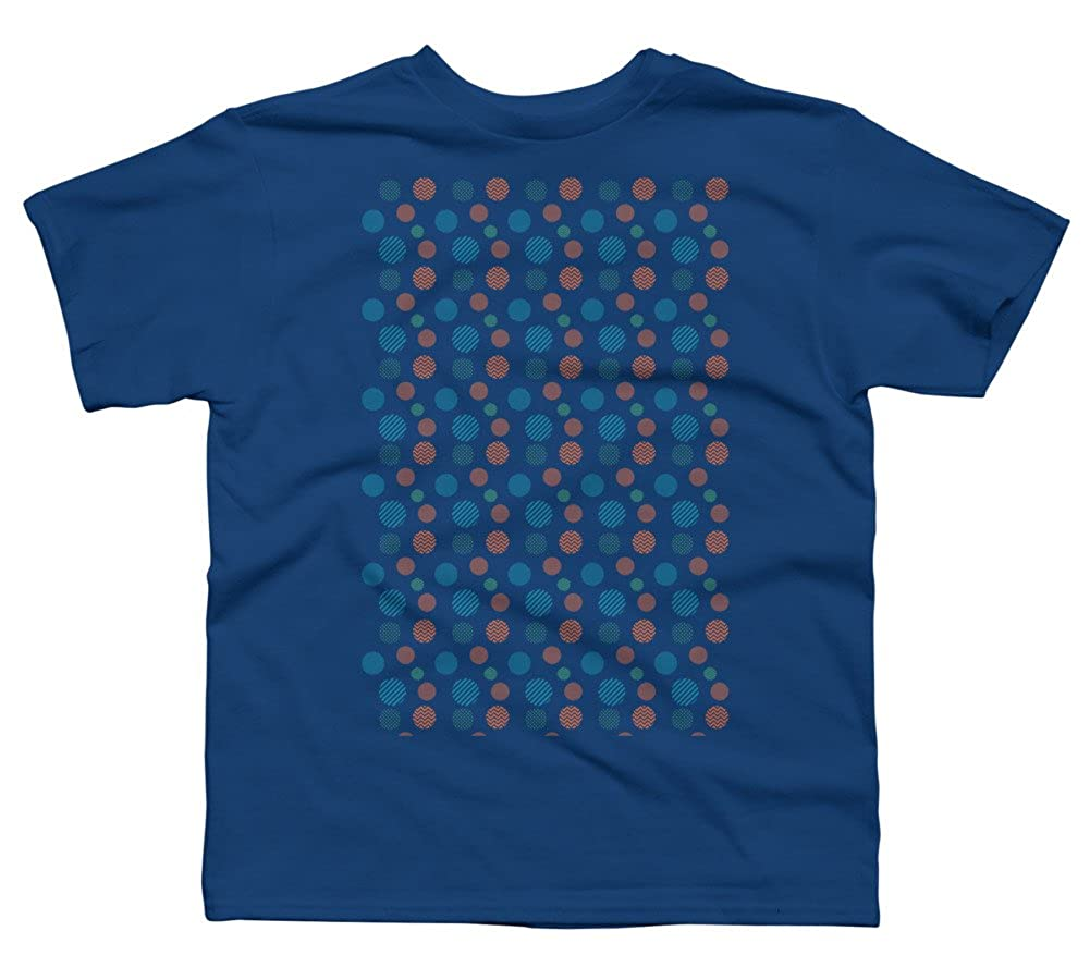 Bubble Burst Pattern Boys Youth Graphic T Shirt Design By Humans
