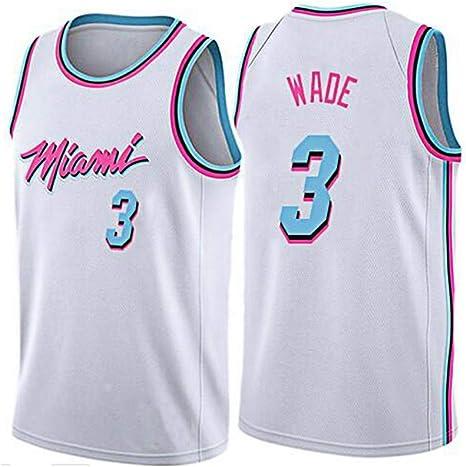 BST Miami Heat, 3, Camiseta De La NBA, Sudadera De Baloncesto ...