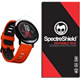 (6-PACK) Spectre Shield for Amazfit PACE Screen Protector (Military-Grade) Flexible Full Coverage Ultra HD Clear Anti-Bubble Anti-Scratch Film