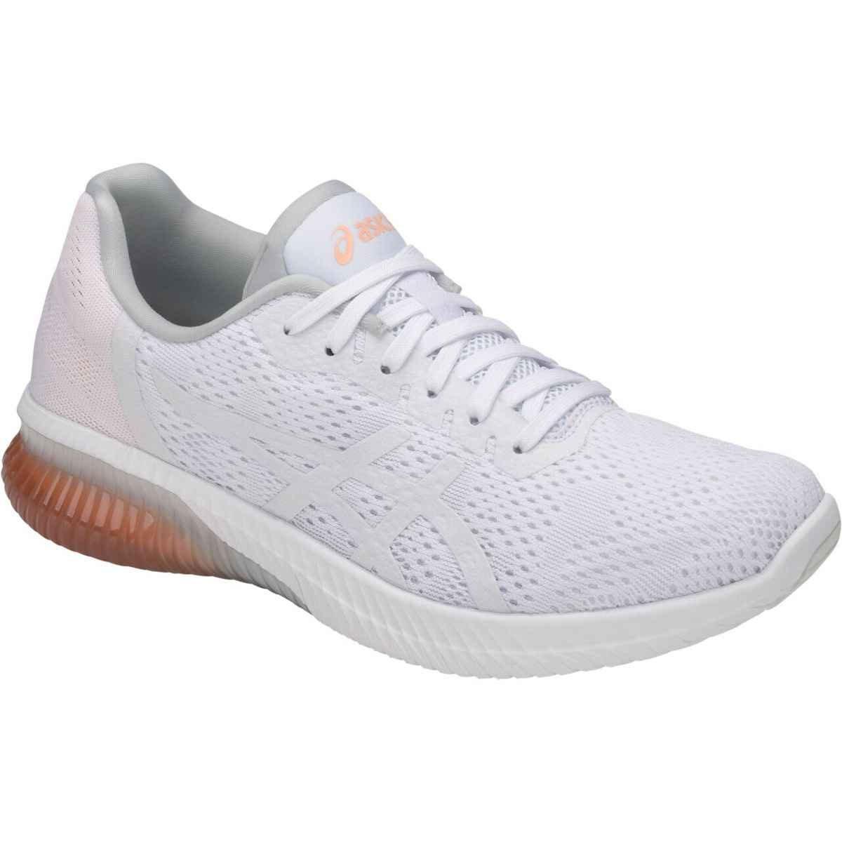 ASICS T888N Women's Gel-Kenun MX Running Shoe B075PGRB3N 9.5 B(M) US|White/White/Apricot Ice