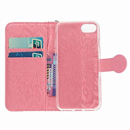 Amazon.com: Sushed - Funda de piel con tapa para iPhone 7 ...