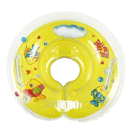 ZhongYeYuanDianZiKeJi Flotador para bebé con Asiento, Anillo de natación para Bebé de Seguridad Asiento Hinchable