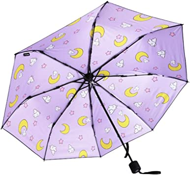 Kaxima Vinyl umbrella umbrellas folding umbrella sun protection UV protection printing umbrella 54x100cm
