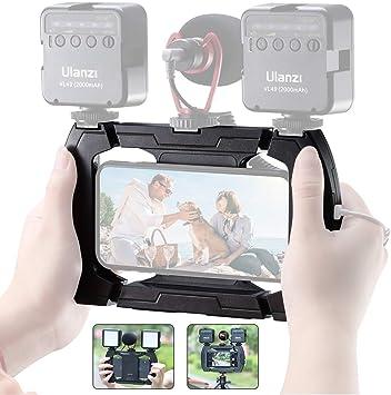 ULANZI U-Rig Lite Smartphone Video Rig w 3 Cold Shoe: Amazon.co.uk: Camera & Photo