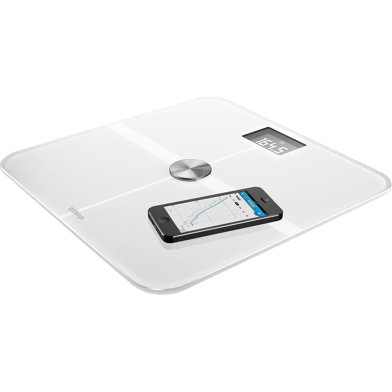 Withings Smart Body Analyzer - Báscula multifunción con Wi-Fi, color blanco: Amazon.es: Salud y cuidado personal