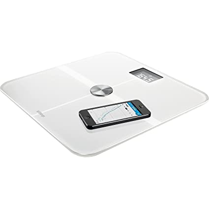 Withings Smart Body Analyzer - Báscula multifunción con Wi-Fi, color blanco