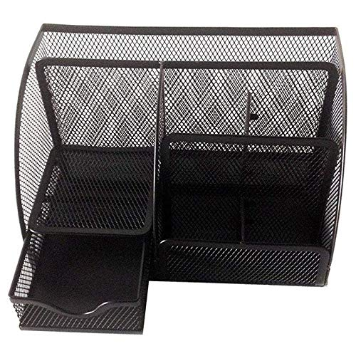 Nrpfell 1pcs Office Stationery Multi-Function Stationery Pen Holder Grid Storage Box by Nrpfell (Image #2)