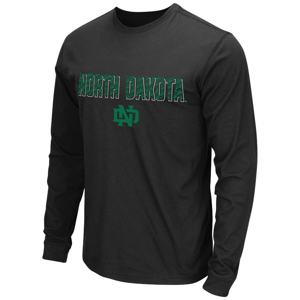 メンズNCAA North Dakota Fighting Hawks長袖Tシャツチームカラー Medium  B01JSSIV0A