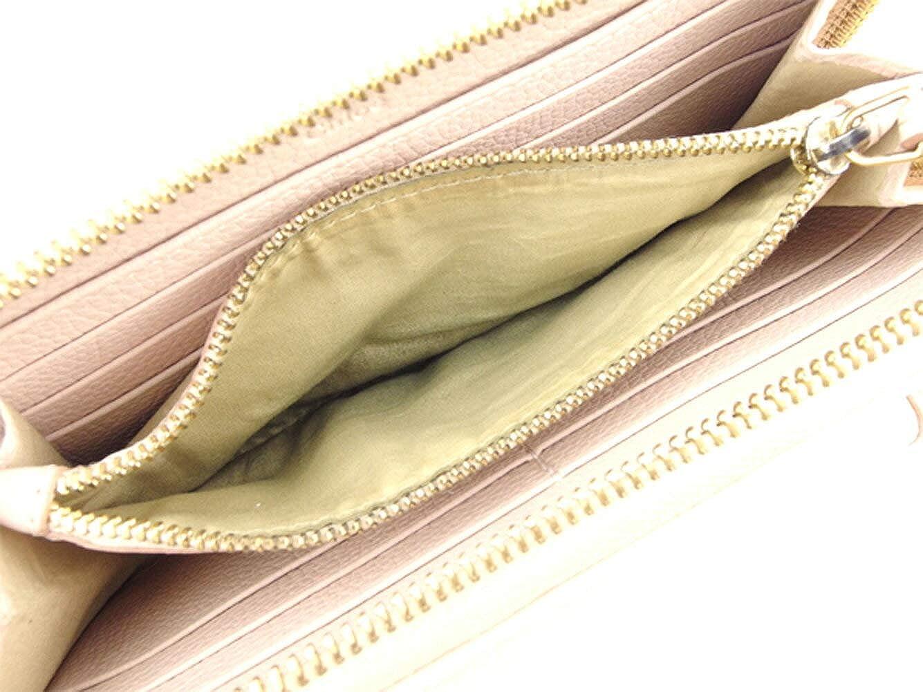 fd53c33c32cd Amazon   (クロエ) Chloé 長財布 ラウンドファスナー 財布 ピンク ゴールド パラティ レディース 中古 C3295   財布