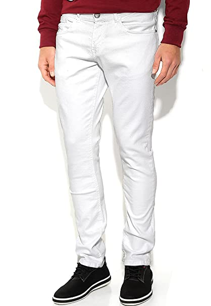 Talla Skinny Fit Blanco Blanco Hombre 29 Jeans para Jeans Rewind xHwgBSaa