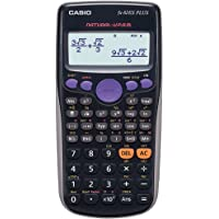 Casio FX-82ES PLUS - Calculadora científica, 80 x 162 x 13.8 mm, negro