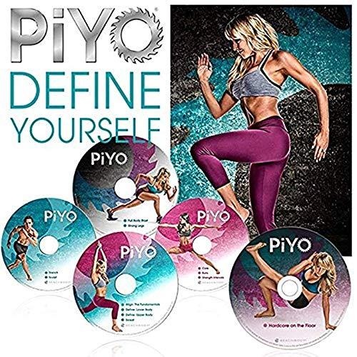 ZOMLAN PiYo DVD, Workout | Pilates/Yoga Workout with Fitness Guide & Nutrition Plan (PiYo)