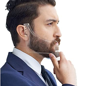 Facial hair trimming