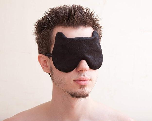 Amazon Com Black Man Sleep Mask Valentines Day Gift For Him