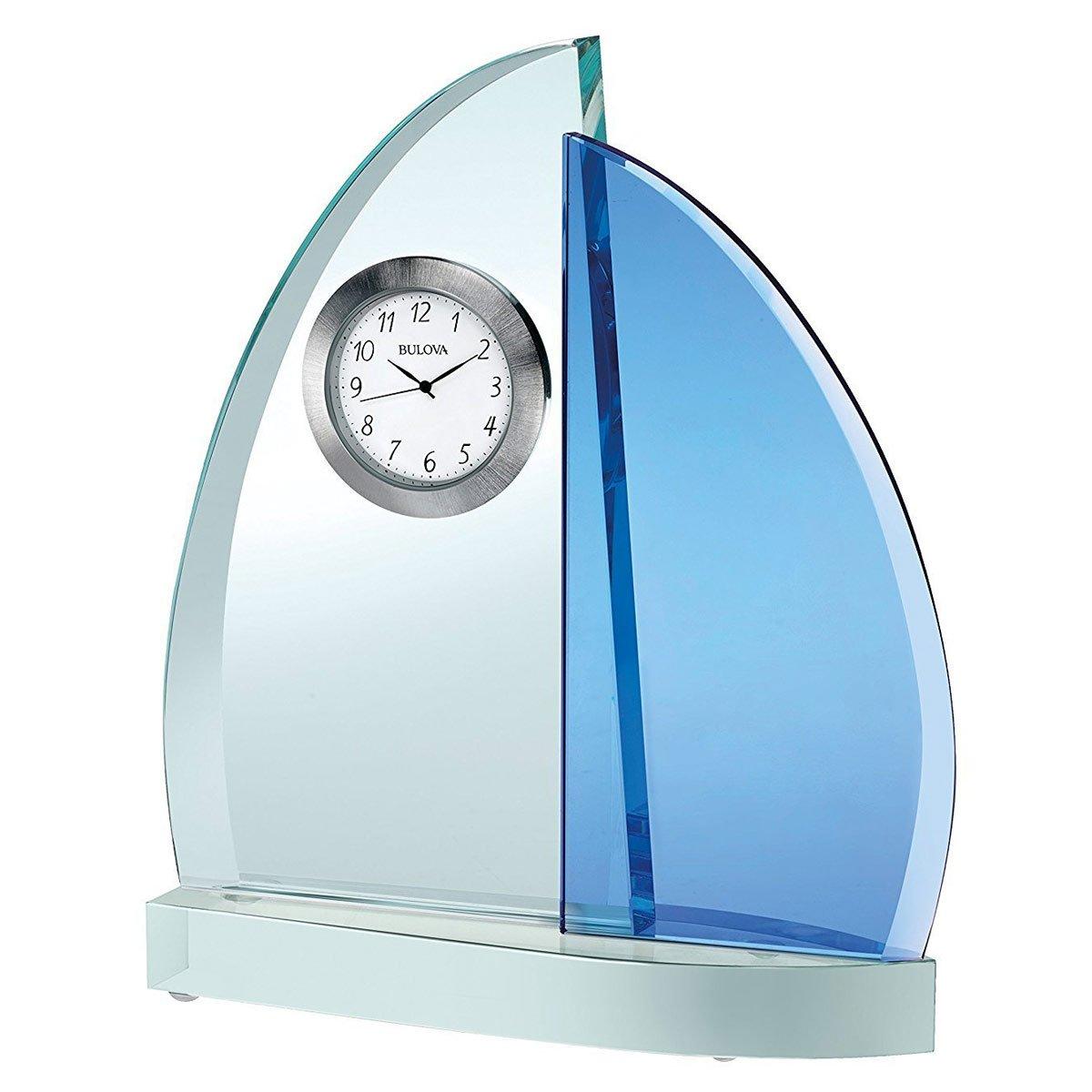 Bulova Windswept III Desk Clock