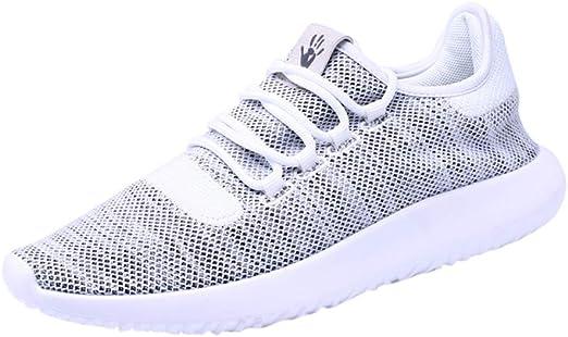 Zapatillas Running Deporte Malla Sin Cordones para Hombre Zapatos ...