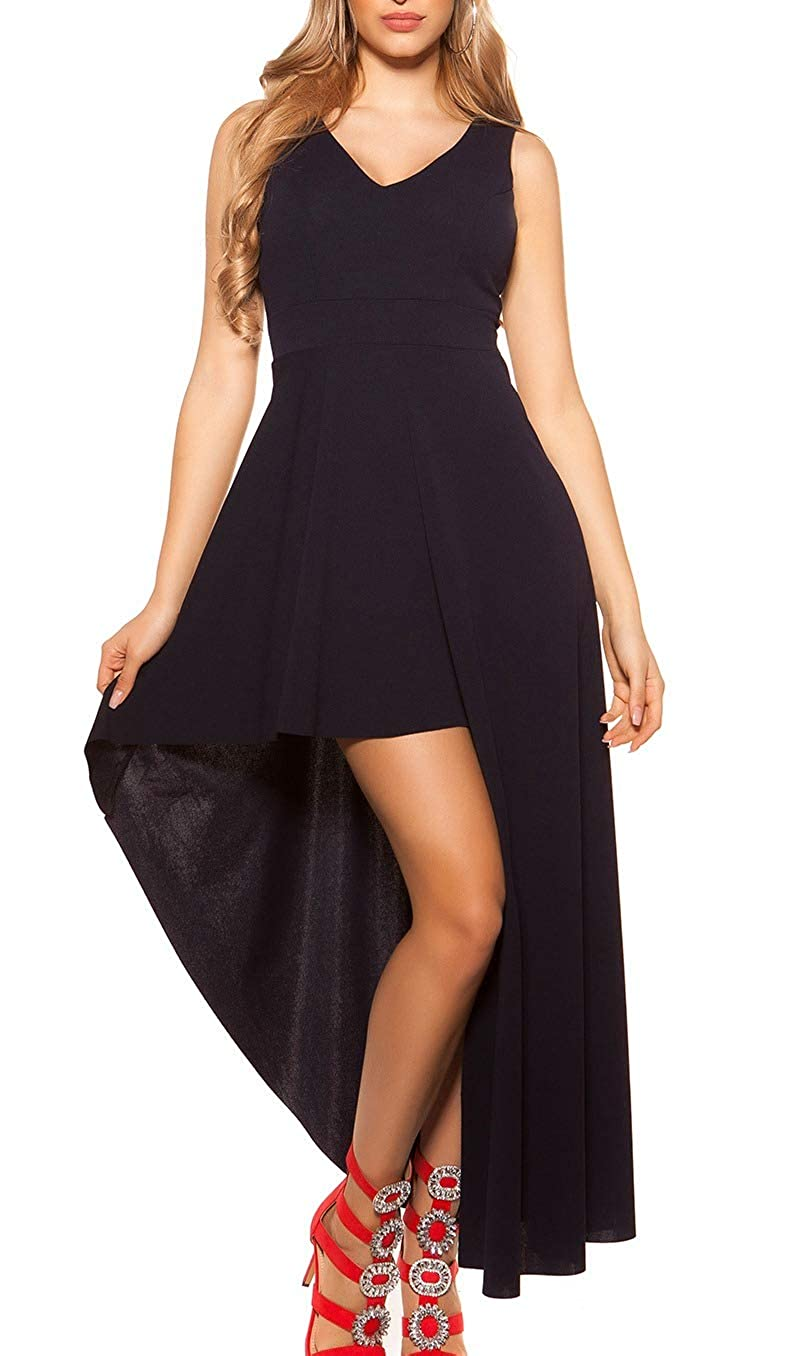Koucla High-low-Kleid Dress Cocktail Kleid Party Minikleid  Abendkleid