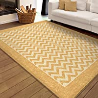 Chevron Stripe Gold 52 x 76