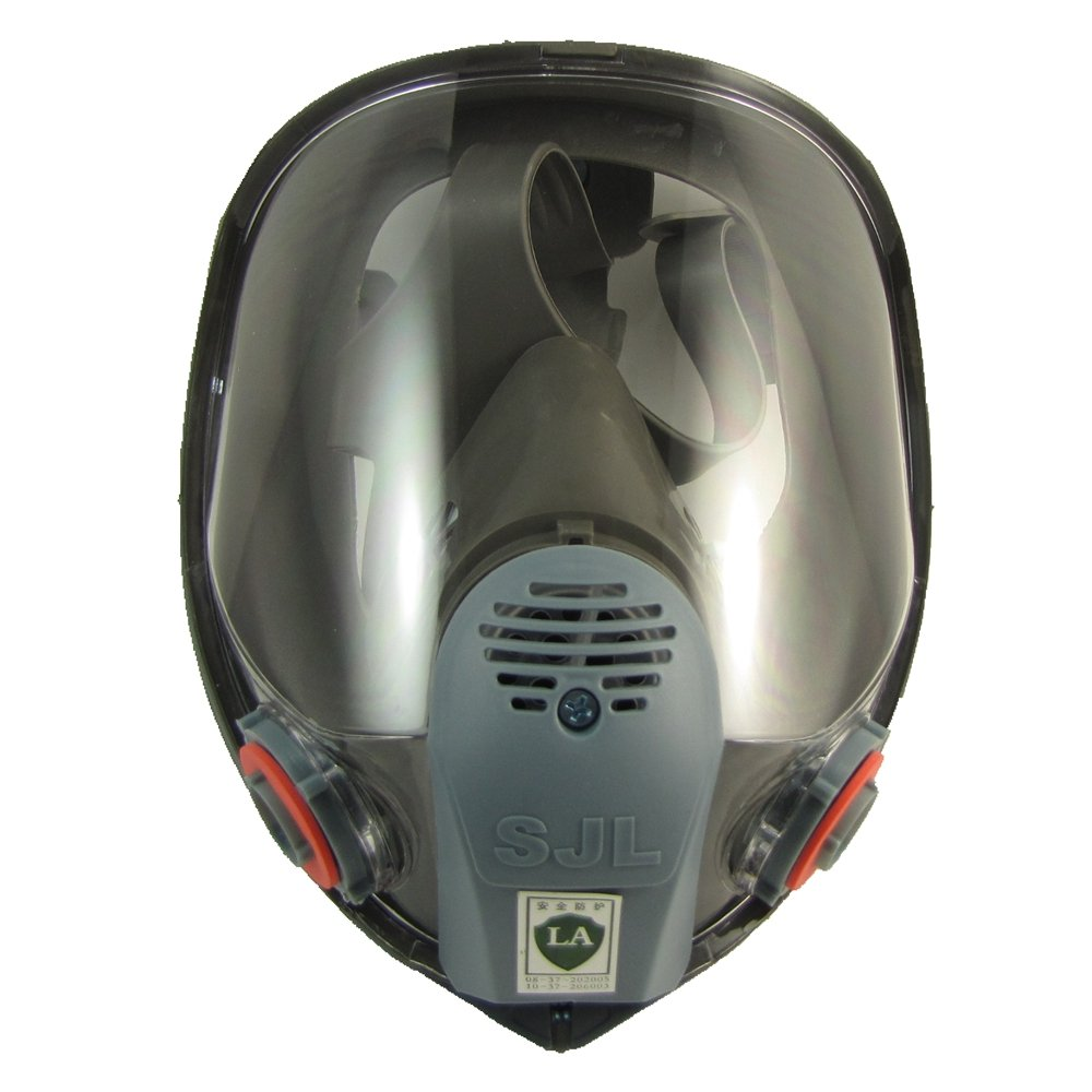 SJL Gasproof Mask Full Face Facepiece Respirator Brand New For 6800