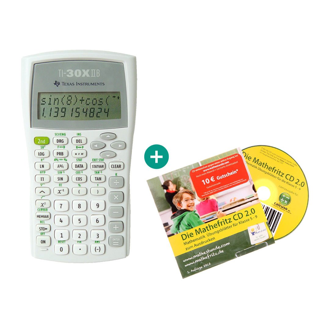 Texas Instruments 30 X IIB + Lern-CD: Amazon.de: Computer & Zubehör
