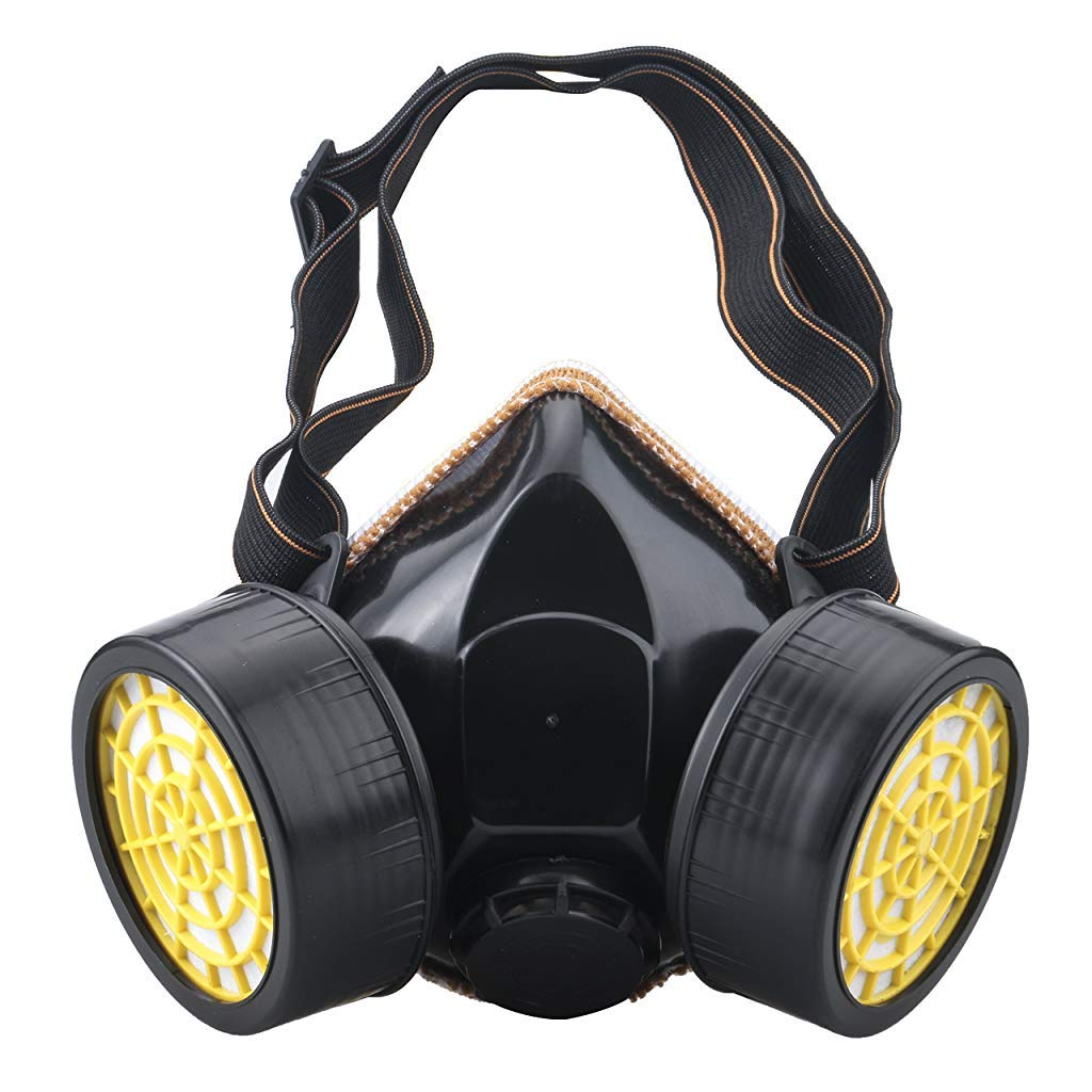 HASTHIP Anti-Dust Spray Chemical Gas Dual Cartridge Respirator Paint Filter  Mask: Amazon.in: Industrial & Scientific