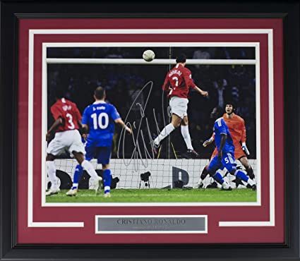 d2dc19a7973 Image Unavailable. Image not available for. Color  Cristiano Ronaldo Signed  ...
