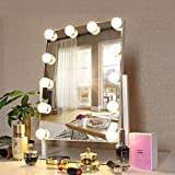 Amazon Com Elegant Bronze Make Up Mirror Strong 7x For