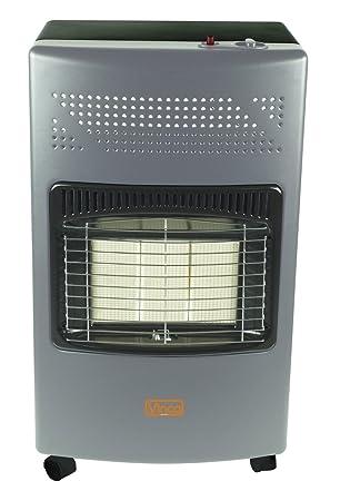 VINCO 71406 VIN71406 - Estufa de gas con panel infrarrojo, 4200 W, blanco, 36 x 41 x 72 cm: Amazon.es: Jardín