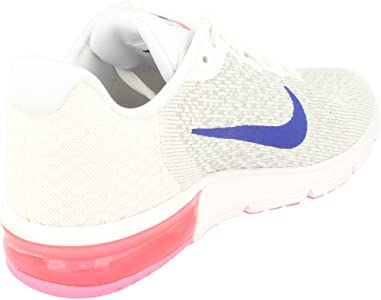 free shipping 58d4e b2141 (6 UK, White Concord Laser Pink 146) - Nike Women s Wmns Air Max Sequent 2  Sneakers. (6 UK, White Concord Laser Pink 146) - Nike Women s Wmns Air Max