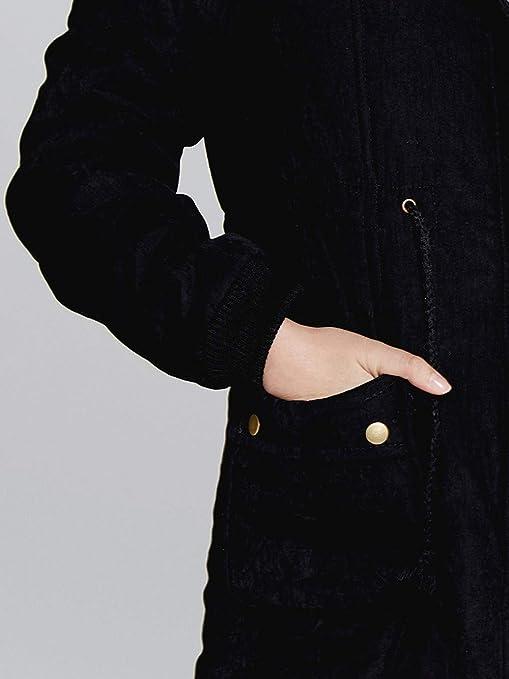 Luckycat Chaqueta con Capucha del Cuello de Piel de Abrigo Larga Caliente de Las Mujeres Abrigos Largos Outwear del Parka del Invierno: Amazon.es: Ropa y ...