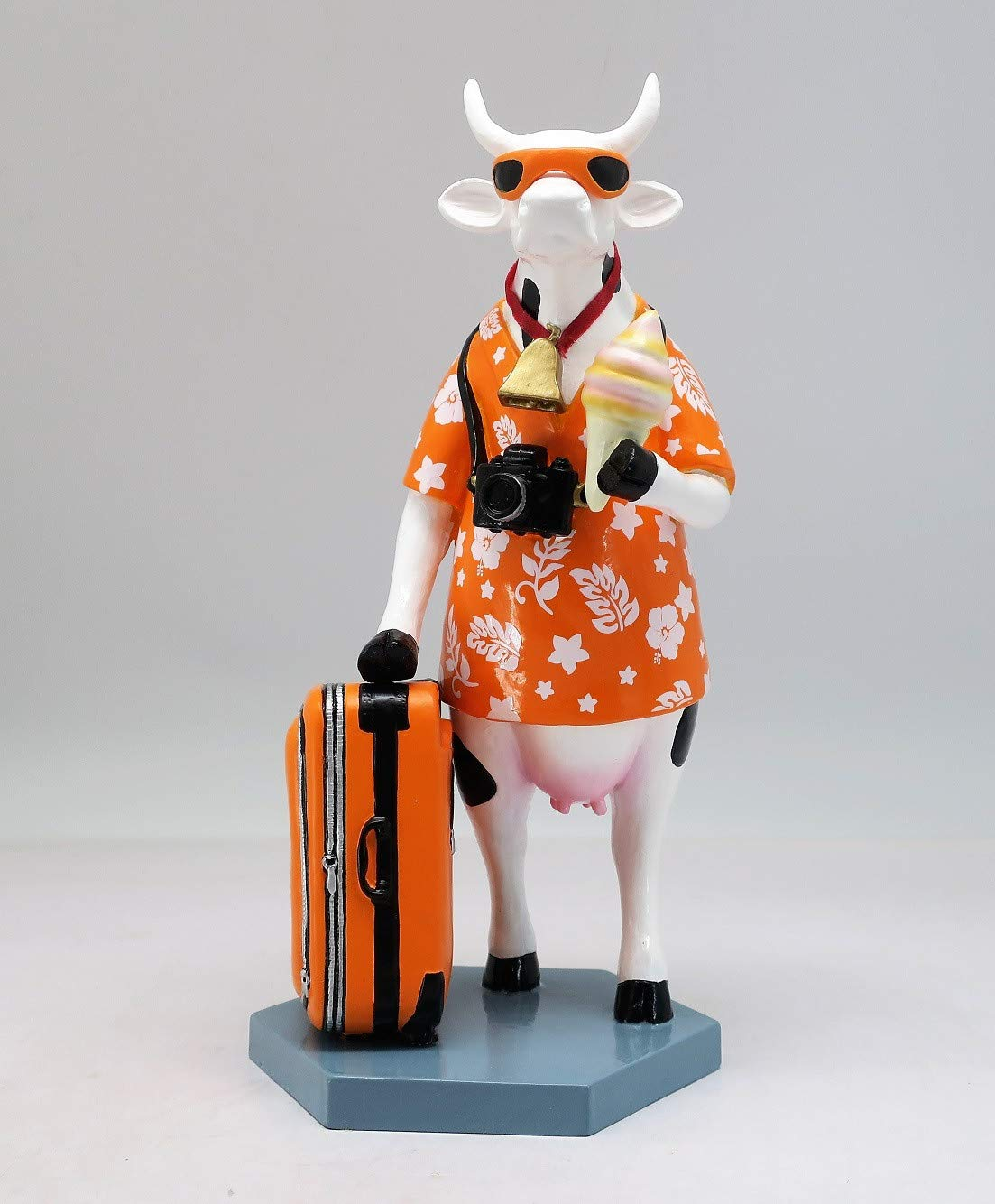 Cowparade Kuh - Vacation Cow (M) - Urlaubskuh, Resin, 15cm, 47908