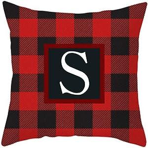 Cushion Cover Home Decor Cushion Cover Christmas Print Pillowcase Throw Pillow Coversecor Home & Garden Pillow Case