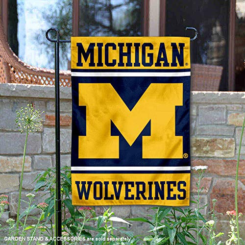 (College Flags and Banners Co. Michigan Wolverines Garden Flag)