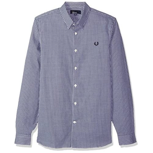 Fred Perry Men's Woven Pattern Shirt for cheap