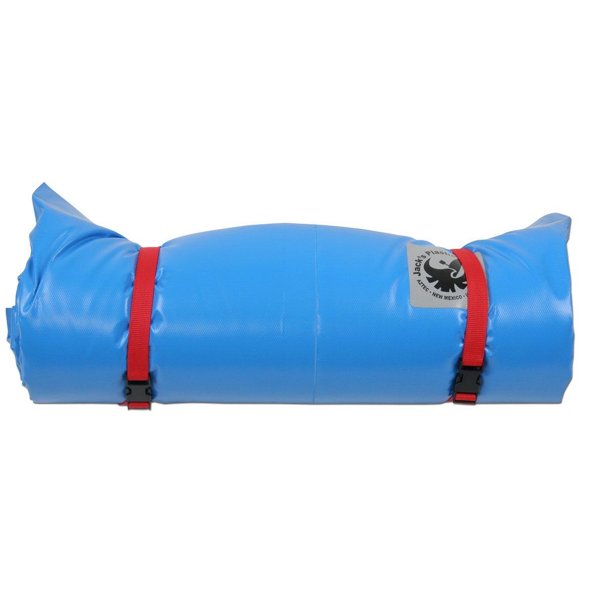 JACK'S PLASTIC Super Paco Sleeping Pad Light Blue One Size