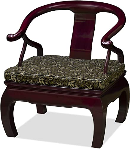 China Furniture Online Rosewood Chinese Monk Chair