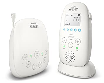 Amazon.com: Philips AVENT DECT Baby Monitor de audio scd720 ...