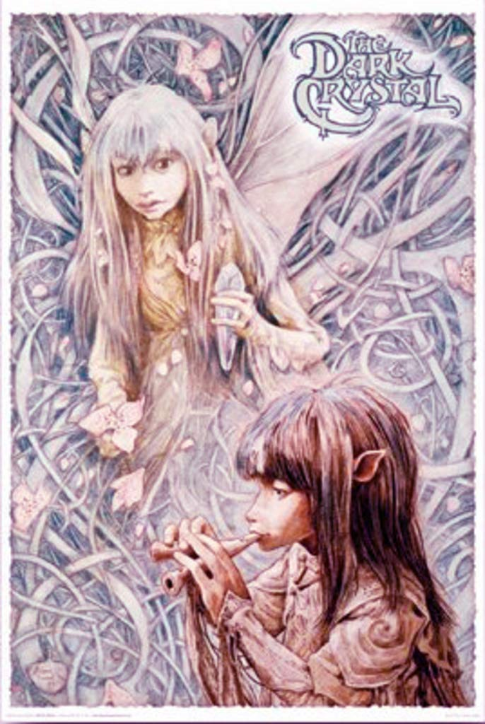 Studio B The Dark Crystal Jen and Kira Fantasy Adventure Movie Jim Henson One Sheet Poster 24x36 inch