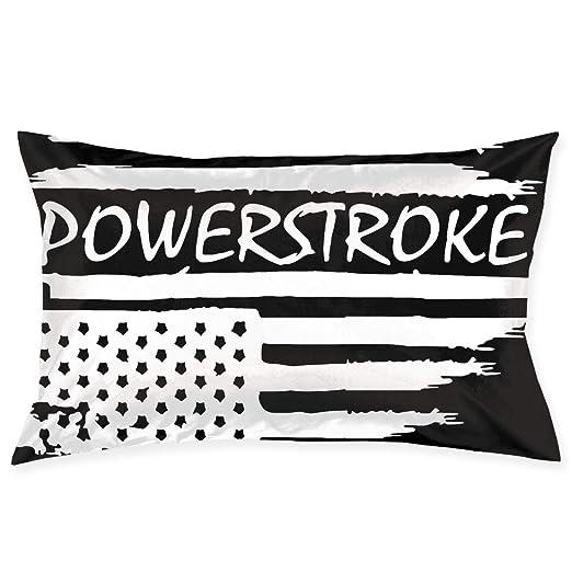 PLO Cojín de sofá con Bandera Americana Ford Powerstroke ...