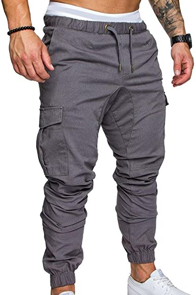 BoBoLily Pantalones De Chándal para Hombre Lang Tooling Multi ...
