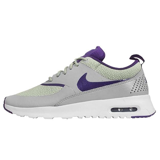 Nike Air Max Thea Women Schuhe silver wing-court purple-pure platinum - 36