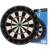 BETTERLINE Bristle Sisal Dartboard and Cricket