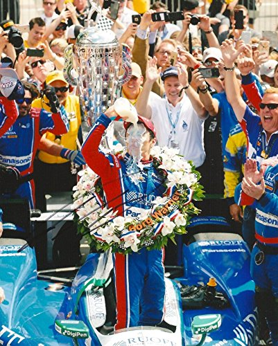 TAKUMA SATO signed 8x10 INDY 500 MILK photo IRL INDY with COA - Autographed Extreme Sports Photos ()